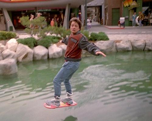 Le hoverboard de Retour vers le futur va enfin sortir!