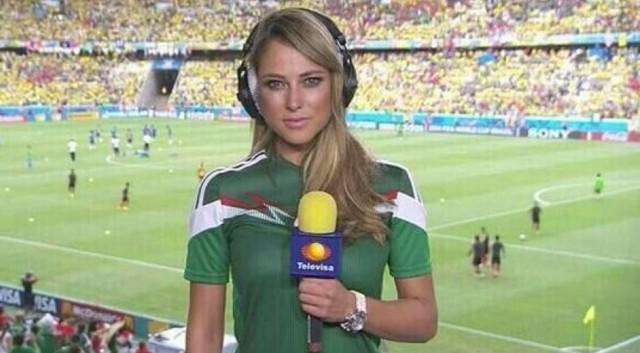 Découvrez la présentatrice la plus sexy de la coupe du monde