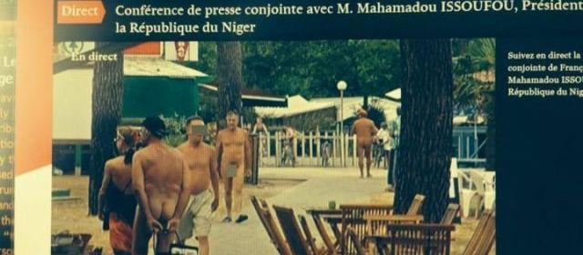Quand l'Elysée diffuse une vidéo de nudistes