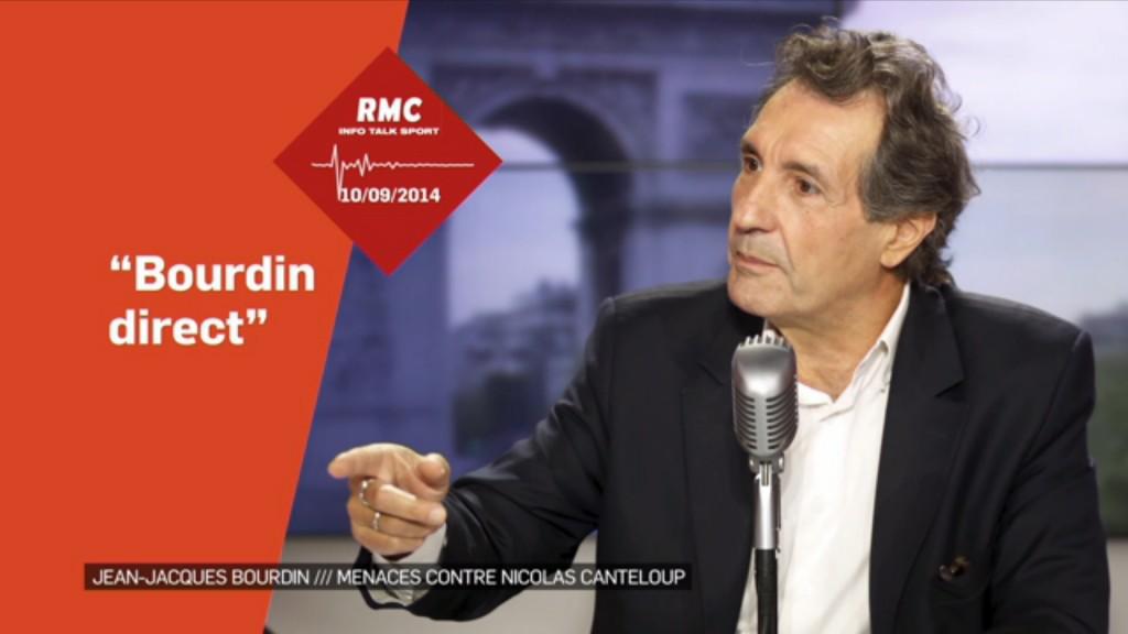 Vidéo: Jean-Jacques Bourdin menace Nicolas Canteloup