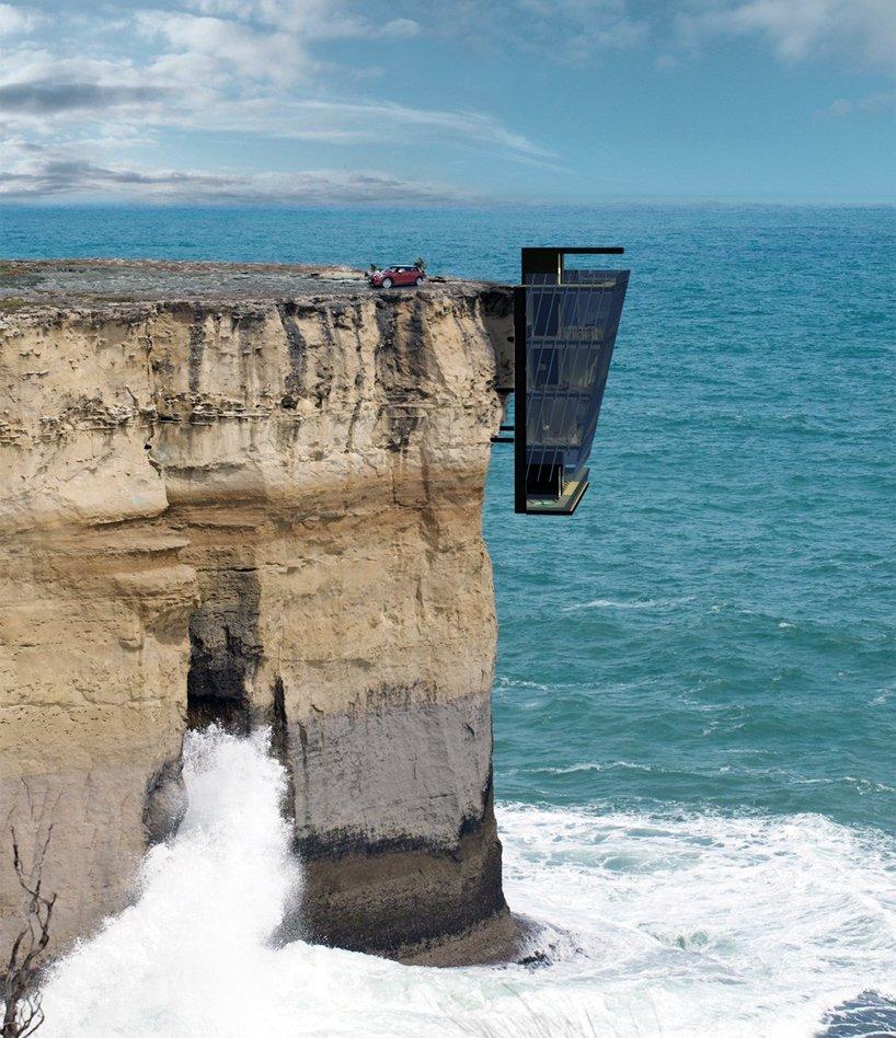 Cette maison, accrochée à une falaise, est la plus incroyable et effrayante du monde