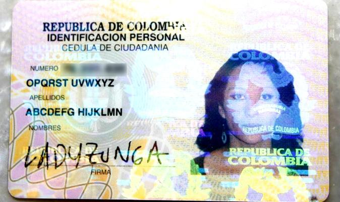 Cette colombienne a le nom le plus difficile à prononcer du monde