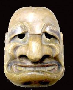 Ce masque japonais du 18e siècle devrait vous être familier...
