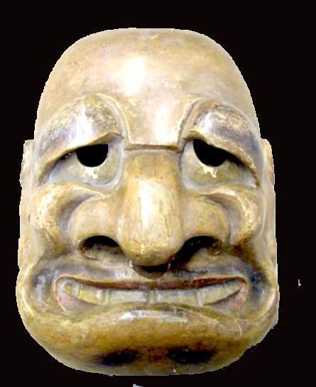 Ce masque japonais du 18e siècle devrait vous être familier…