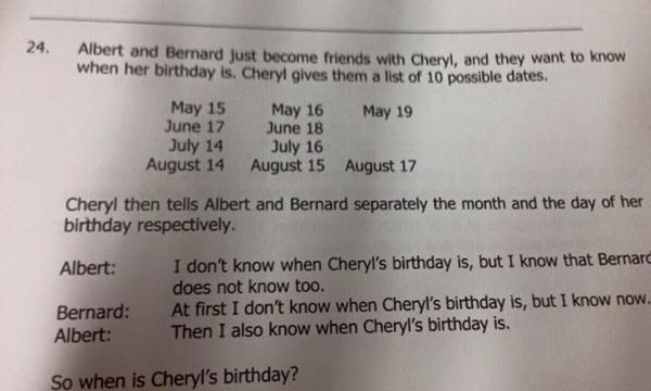 On parie que vous ne pourrez pas résoudre ce problème de logique donné à des élèves de 15 ans