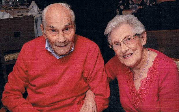 Il fait sa demande en mariage à 103 ans