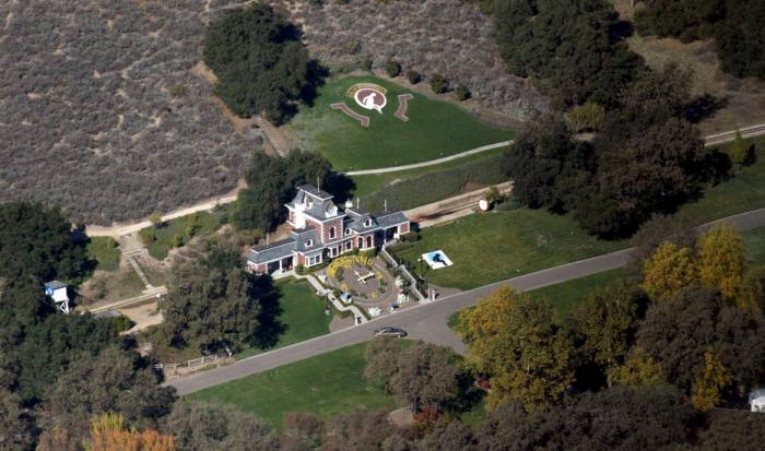 L'incroyable ranch de Michael Jackson mis en vente pour…