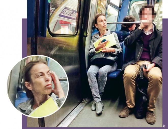 Le bon coup de com' d'Agnès Saal qui prend le métro