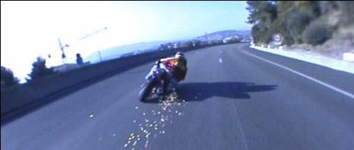 Contrôlé à 202 km/h, le motard se rendait à un stage de récupération de points