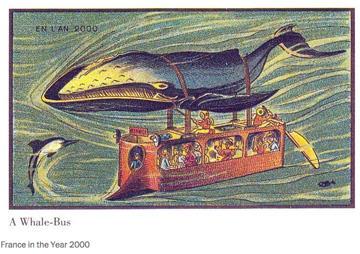 Comment les gens en 1900 imaginaient la vie en l'an 2000