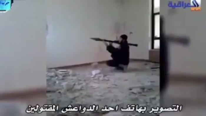Un combattant de Daesh se fait exploser par son propre lance-roquettes