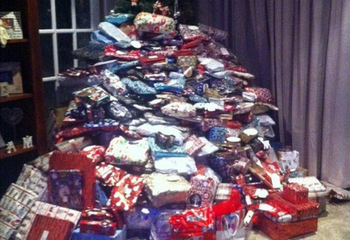 Cette maman a reçu une avalanche de critiques après avoir posté les cadeaux de Noël de ses enfants