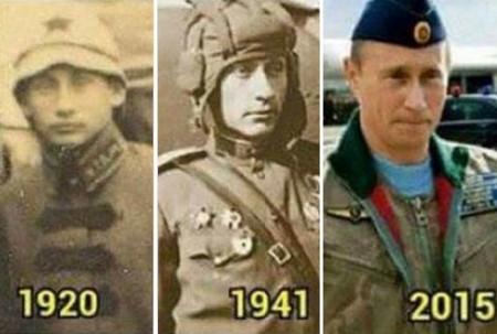 Vladimir Poutine serait immortel