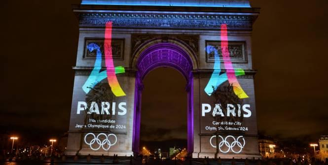Voilà à quoi ressemble le logo de Paris 2024, candidate aux J.O