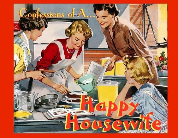 Voilà ce que les femmes devaient faire à leur mari en 1954