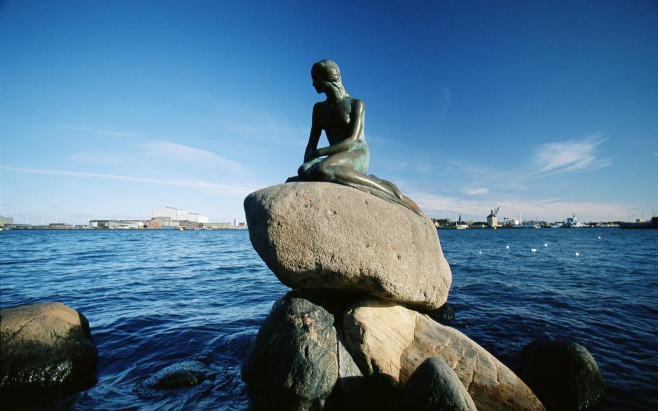 La petite sirène de Copenhague...