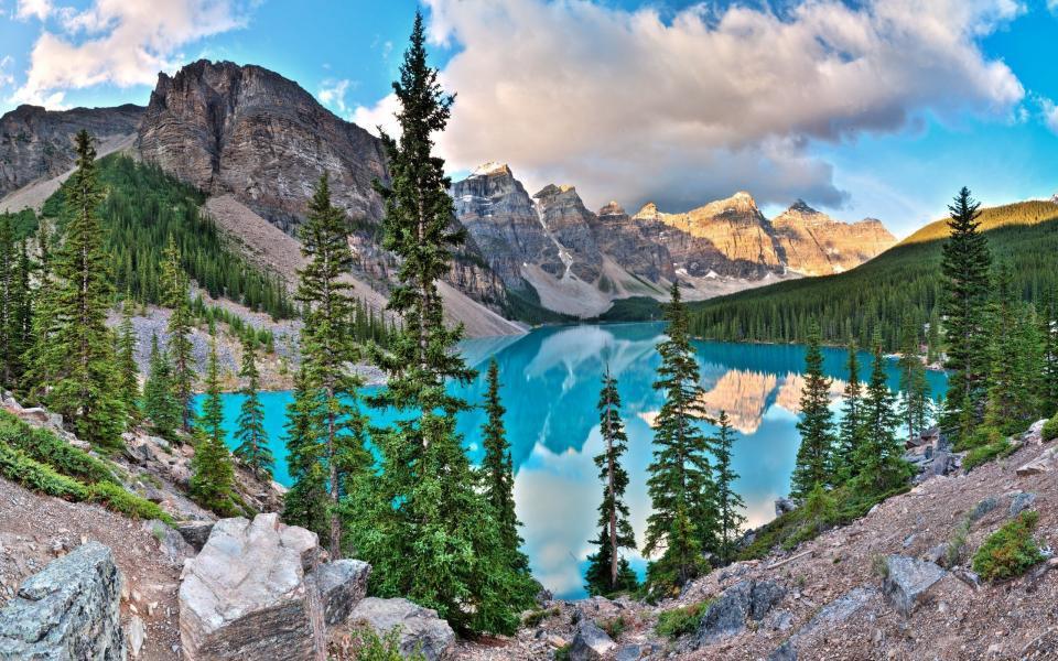 Le lake Louise...