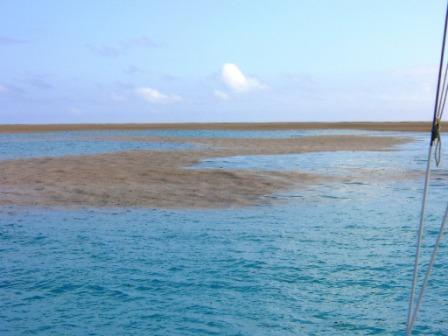 L'équipage du Maiken naviguait dans le Pacifique Sud quand il a repéré une ombre inhabituelle.