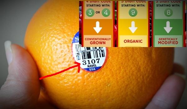 Les étiquettes sur les fruits révèlent des informations capitales pour votre santé