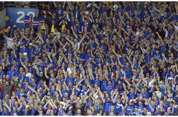 6% des islandais ont fait le déplacement en France pour l'Euro !
