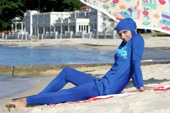 Une journée réservée aux «burkinis» et interdite aux bikinis dans un parc aquatique