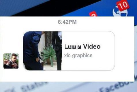 Attention, si vous recevez ce message sur Facebook, ne l'ouvrez surtout pas !