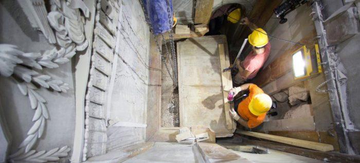 Des phénomènes paranormaux lors de l'ouverture du tombeau de Jésus
