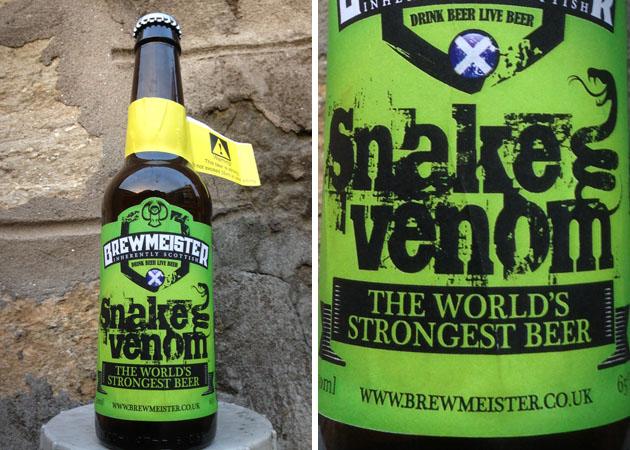 Ceci est la bière la plus forte du monde avec un degré d'alcool à…