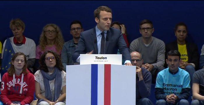 Le gros bide du meeting d'Emmanuel Macron à Toulon