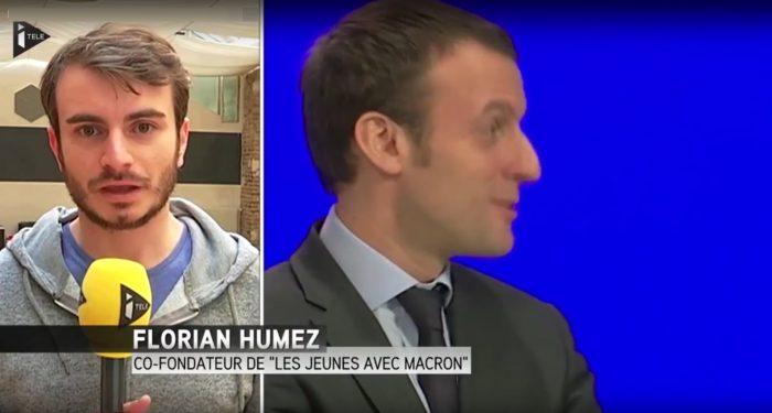 Le fondateur des «jeunes avec Macron» bénéficie illégalement d'un emploi d'assistant parlementaire