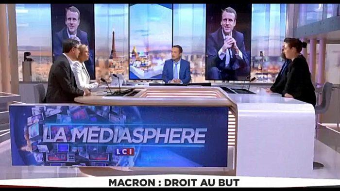 L'équipe de Macron fait supprimer une émission critique envers son candidat