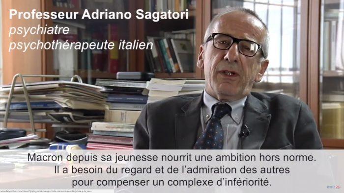 Selon ce psychiatre italien, Macron est un psychopathe