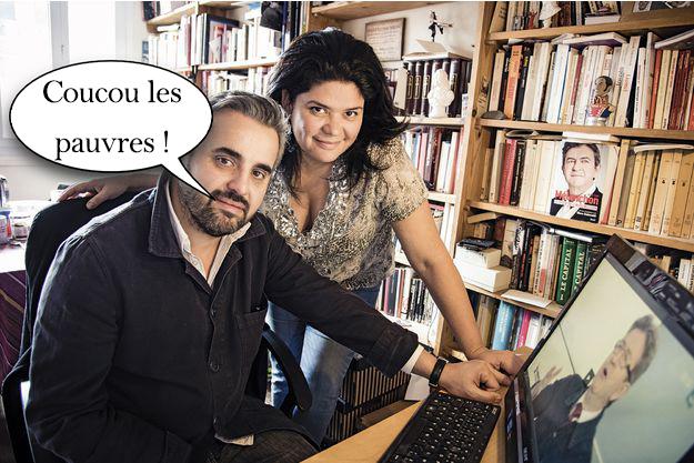 Alexis Corbière et Raquel Garrido ne veulent pas quitter leur HLM pour le laisser à une famille dans le besoin