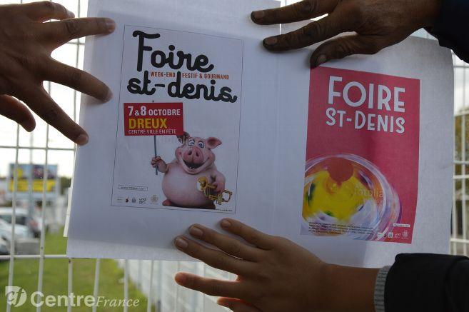 La mairie supprime un cochon d'une affiche pour ne pas froisser les musulmans