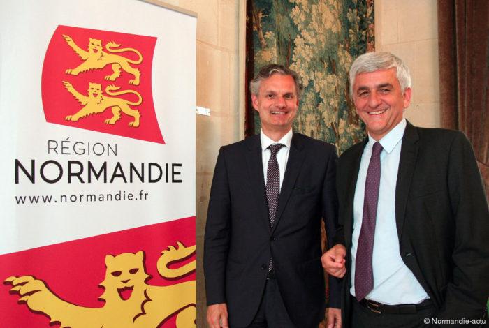 La région Normandie a dépensé 140.000 € pour se renommer «Normandie»