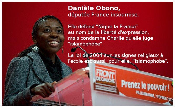 Une députée insoumise défend le droit de niquer la France et hésite à dire «Vive la France»
