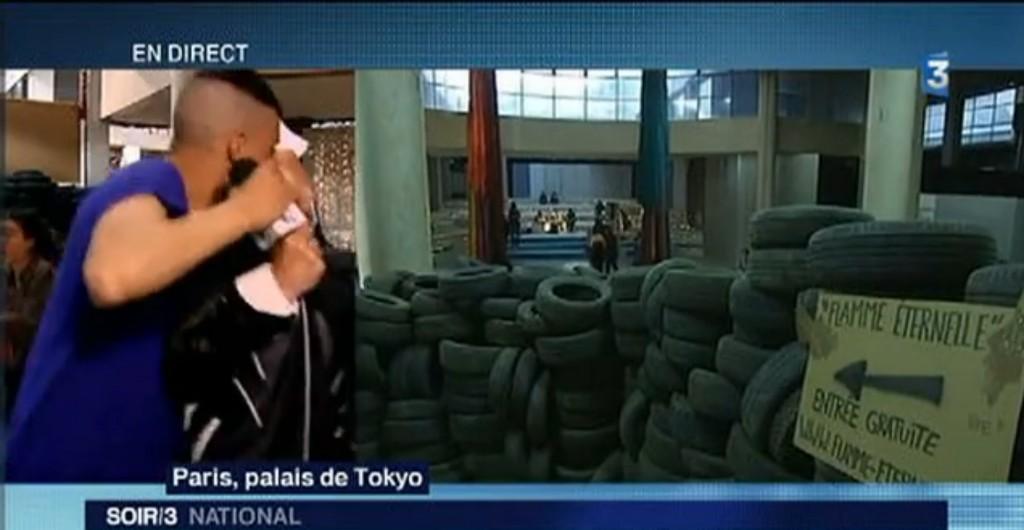 Une journaliste de France 3 embrassée de force lors d'un direct