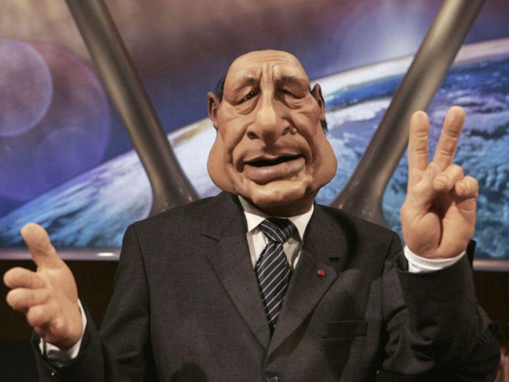 Canal + utilisait la marionnette de Jacques Chirac pour cacher de la drogue