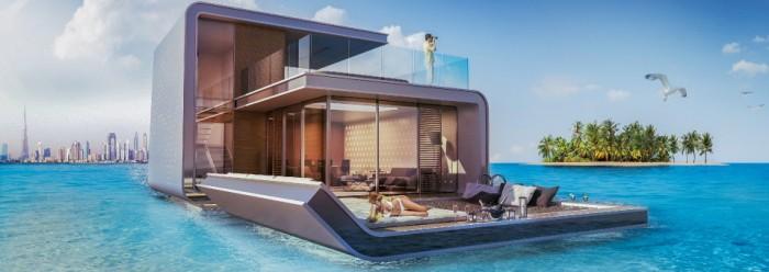Cette maison est en partie immergée dans la mer !