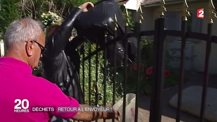 Ce maire ramasse les déchets dans la nature, retrouve les responsables et les jette dans leur jardin