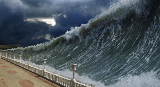 L'Europe pourrait être balayée par un tsunami géant