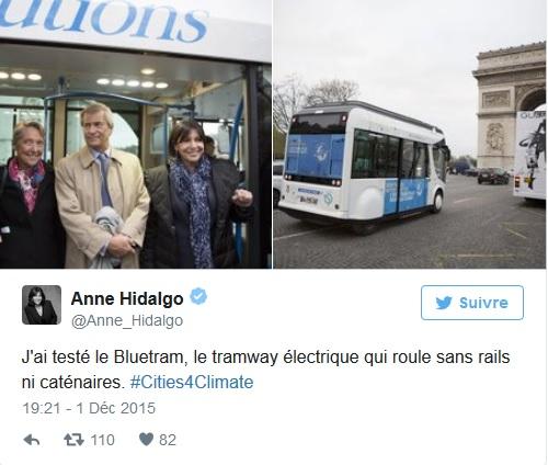 Anne Hidalgo moquée après un tweet exceptionnel