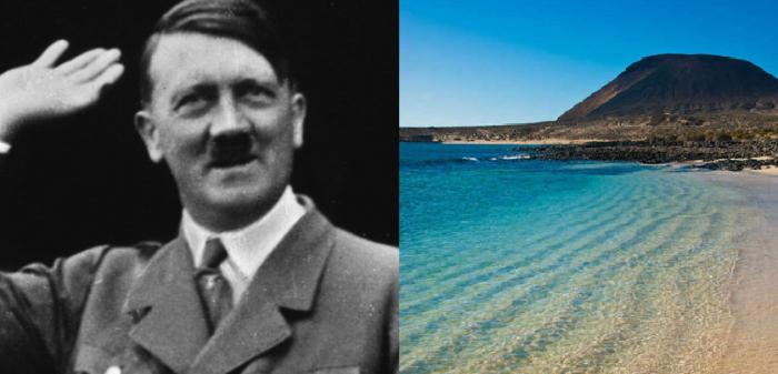 Selon un ancien de la CIA, Hitler aurait feint d'être mort avant de fuir aux îles Canaries