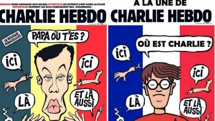 La réponse des belges à la une de Charlie Hebdo