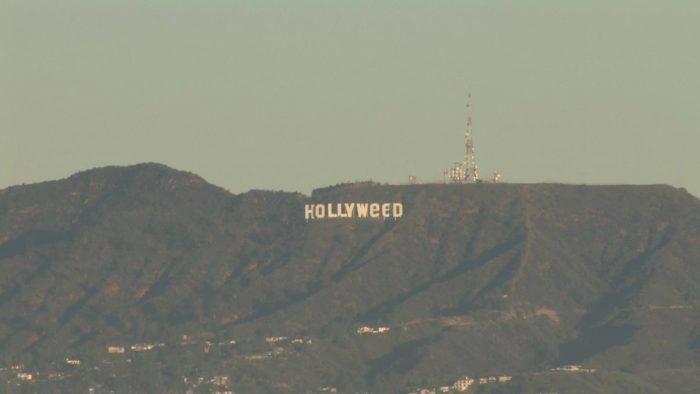 Les lettres du panneau Hollywood ont été changées pendant la nuit