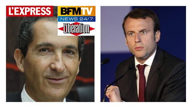 Macron est autant diffusé sur BFMTV que Fillon, Hamon, Mélenchon et Le Pen réunis