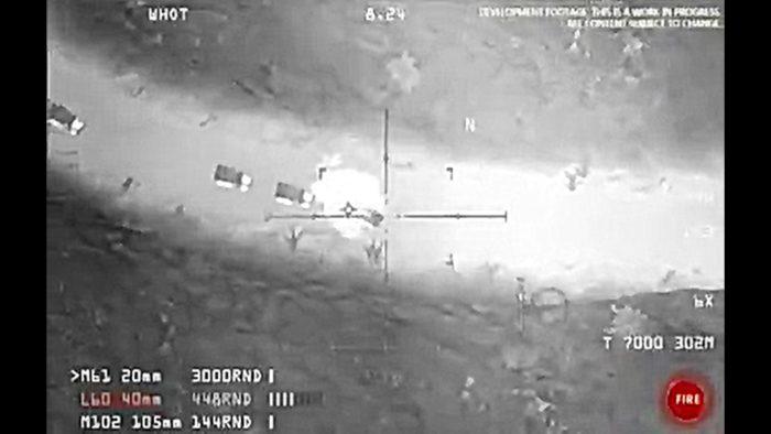 Vidéo : un convoi de Daech se fait désintégrer par l'armée américaine