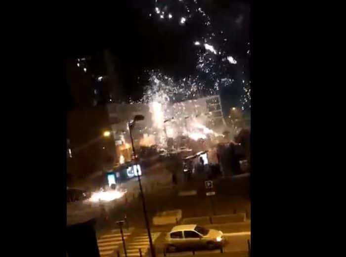 [Vidéo] Des racailles attaquent au mortier le commissariat de Champigny